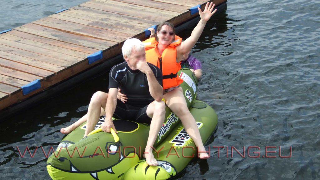 Funtube Riding - Banane reiten