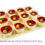 Erdbeer Panna Cotta Schälchen 12x