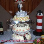 Hochzeitstorte an Bord - Catering by AHOI Yachting