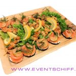 Lachs + Scampis 24x