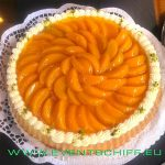 Obstkuchen an Bord - Catering by AHOI Yachting