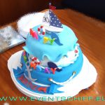 Torte maritim an Bord - Catering by AHOI Yachting