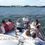 Ausflug mit der Event Yacht