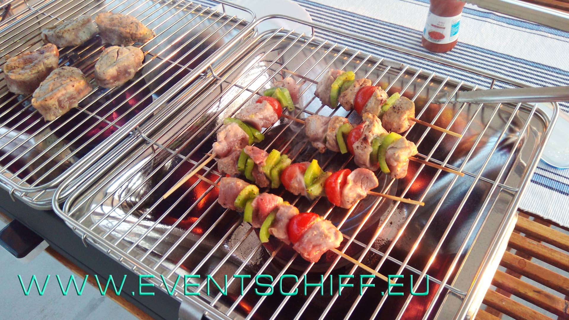BBQ - Grillen an Bord @AHOIYACHTING