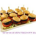 Burger Platte Mini 12x