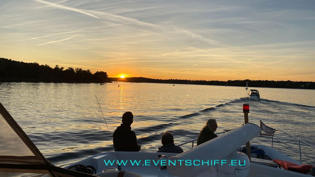 Goldener Oktober auf dem Wannsee