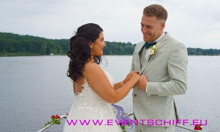 Hochzeit an Bord der CARPE DIEM